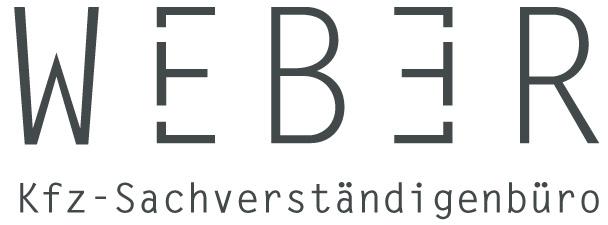 Kfz Sachverständigenbüro Weber_Logo schmal
