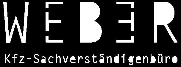 Kfz Sachverständigenbüro Weber_Logo_weiß3